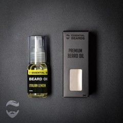Essential Beards Italian Lemon 30ml Beard Oil