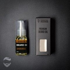 Essential Beards Sandalwood 30ml Beard Oil