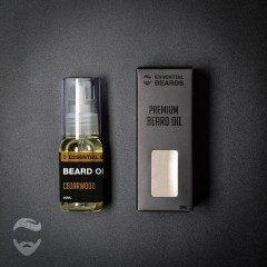Essential Beards Cedarwood 30ml Beard Oil