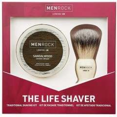 Men Rock MRLSS The Life Shaver Sandalwood Gift Set