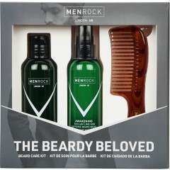 Men Rock MRBBKA (MRBBSG) Beardy Beloved Sicilian Lime & Caffeine Gift Set