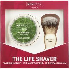 Men Rock MRLSSL The Life Shaver Sicilian Lime Gift Set