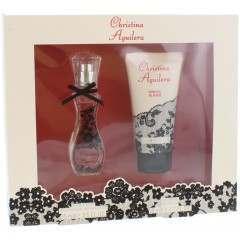 Christina Aguilera GSFLCHR004 Signature 15ml Perfume & 50ml Shower Gel Gift Set