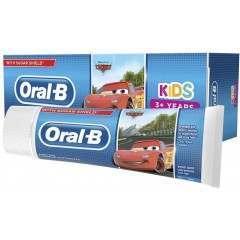 Oral-B TOORA204 Cars Sugar Free 75ml Toothpaste