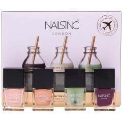 Nails Inc GSCOSNAI002 4 Pack Nail Polish Gift Set