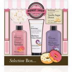 Bayliss & Harding BHBCDN165P Beauticology Donut Perfect Gift Set