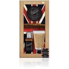 Bayliss & Harding BHFDGL18BK Fuzzy Duck Men's Beard Kit Gift Set