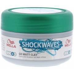Wella TOWEL350 Shockwaves Go Matt Clay