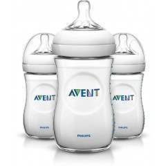 Philips Avent SCF693/37 Natural Three Pack Bottle