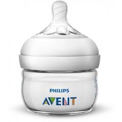 Philips Avent SCF039/17 2oz Natural Baby Bottle
