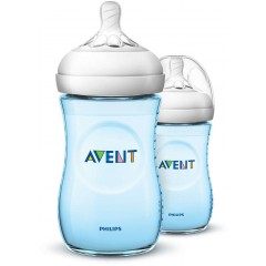 Philips Avent SCF035/27 2 Pack Natural 9oz Baby Bottle