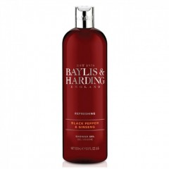 Bayliss & Harding BHBMMSGBP 500ml Black Pepper Shower Gel