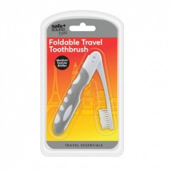 Safe + Sound SA6063 Foldable Travel Toothbrush