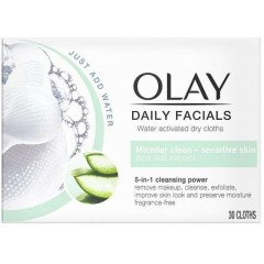Olay 81705653 Daily Facials 5-in-1 (Senstive Skin) Dry Cloth