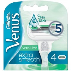 Gillette 81535242 Embrace Sensitive Pack of 4 Razor Blades