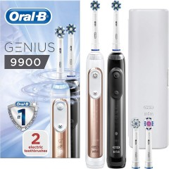 Oral-B Genius 9900 Duo Pack Electric Toothbrush