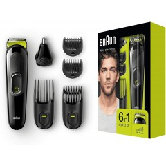 Braun MGK3021 6-in-1 All-in-one Grooming Kit