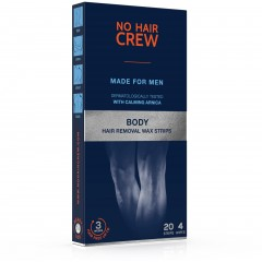 No Hair Crew High Performance for Body Depilation Wax Strips