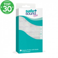 Safe + Sound SA8391 Weekly Pill Organiser Set