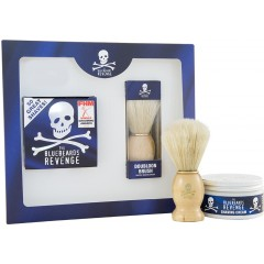 The Bluebeards Revenge BBRSCDBK Shaving Cream and Doubloon Brush Gift Set