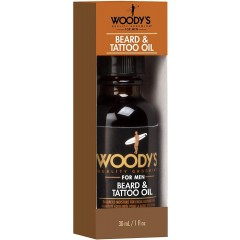 Woody's TOWOO101 For Men 30ml Beard & Tattoo Oil