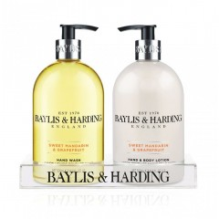 Bayliss & Harding BHBM2BTL Mandardin & Grapefruit Hand Body Lotion & Hand Wash