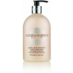 Bayliss & Harding BHBMHWJO Jojoba, Silk & Almond Oil 500ml Hand Wash