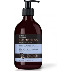 Bayliss & Harding BHGRHWSK Goodness Sea Kelp & Peppermint 500ml Hand Wash