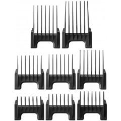 Wahl 58014 Black Clipper Attachment Comb Set