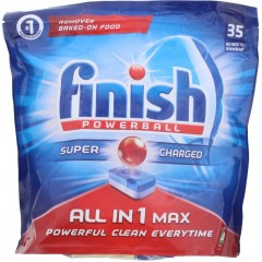 Finish HOFIN231 All in One Powerball 35 Dishwasher Tablets