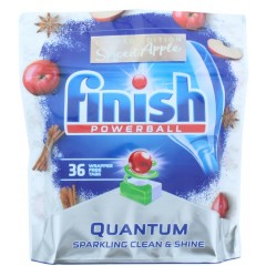 Finish HOFIN238 Quantum Powerball 36 Dishwasher Tablets