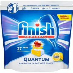 Finish HOFIN240 Quantum Powerball 27 Dishwasher Tablets