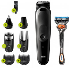 Braun MGK5260 Beard & Hair Trimmer Grooming Kit