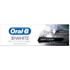 Oral-B 81701063 3D White Therapy Charcoal Toothpaste