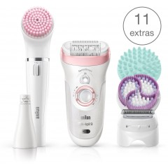 Braun SES 9-985 Silk-Epil Beauty Set Epilator
