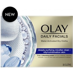 Olay 81705630 Daily Facials 5-in-1 (Purify) Dry Cloth