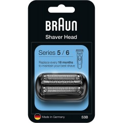 Braun 53B Series 5/6 (New Generation) Foil & Cutter Pack