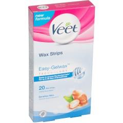Veet TOVEE111 Easy Gelwax Sensitive 20 Pack Strip