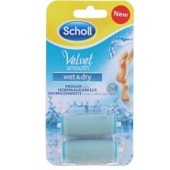 Scholl TOSCH796 Velvet Smooth Wet & Dry Pedi Refills