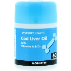 Everyday Health MEEVE006 Cod Liver Oil Pack Of 60 Tablets