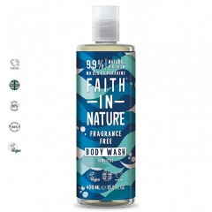 Faith in Nature FI11011506 Fragrance Free 400ml Body Wash
