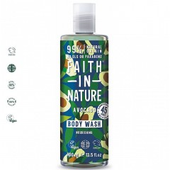 Faith in Nature FI11015206 Avocado 400ml Body Wash