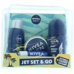 Nivea GSTONIV071 Travel Essentials 5 Piece Gift Set
