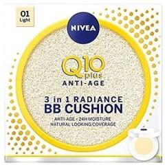 Nivea TONIV292 Q10 3 in 1 Raidiance BB Cushion Moisturiser