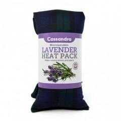 Cassandra HW1164 Trend Tartan Cotton Lavender Heat Wrap