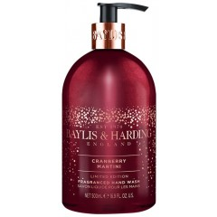 Bayliss & Harding BHHWCM 500ml Cranberry & Martini Hand Wash