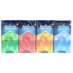 Beechams TOBEE003 Pack of 8 Pocket Tissues