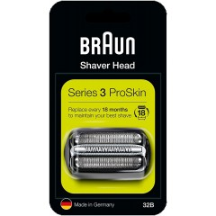 Braun 32B Series 3 Black Cassette Foil & Cutter Pack