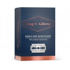 King C Gillette 81723175 Pack of 10 Double Edge Razor Blades
