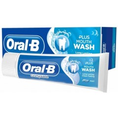 Oral-B 81683024 Complete Fresh Mouthwash + Toothpaste